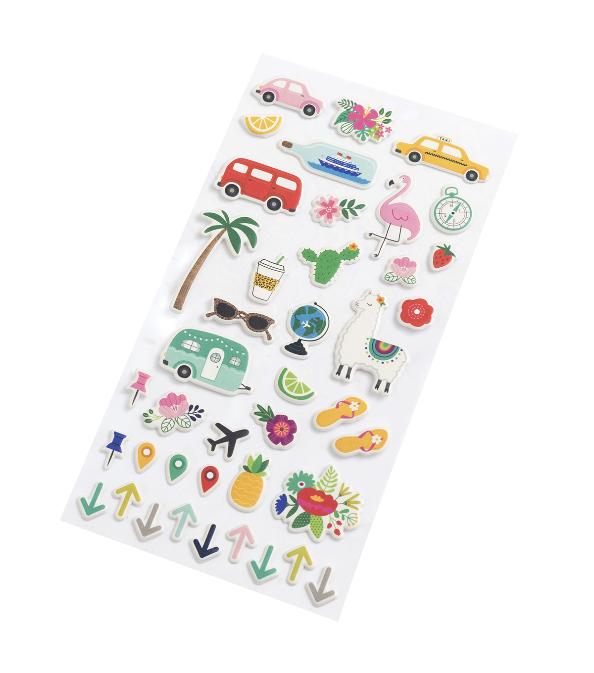 Jen Hadfield Puffy Stickers-Chasing Adventures