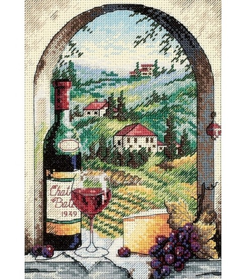 Dimensions Petite Dream of Tuscany Cntd X-Stitch