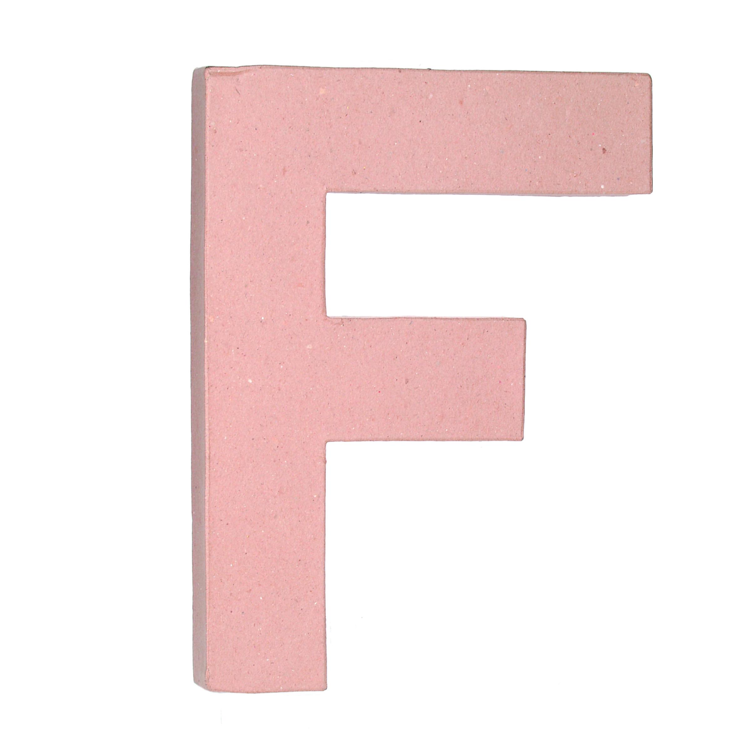 F 12in Paper Mache Letter | JOANN