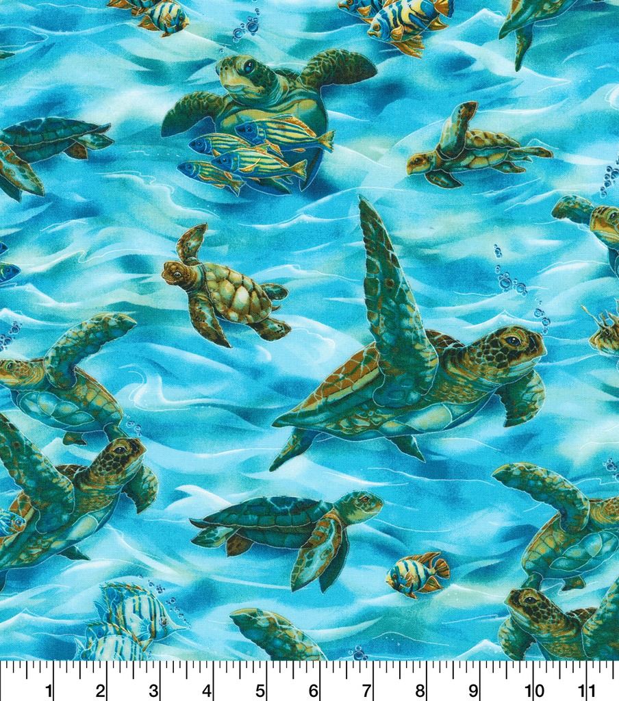 Novelty Cotton Fabric-North American Wildlife