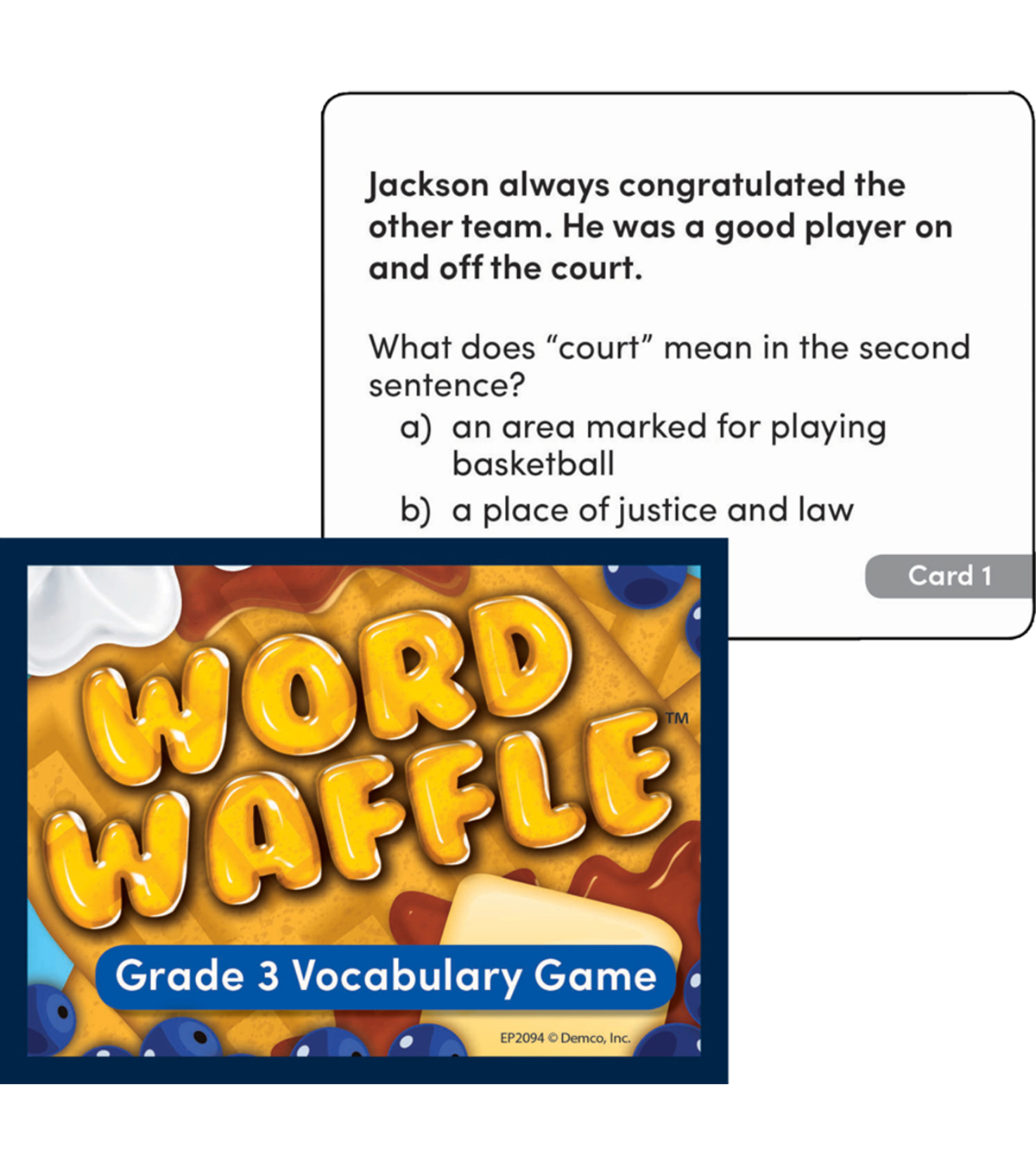 Edupress Word Waffle Game, Grade 3, Pack of 2
