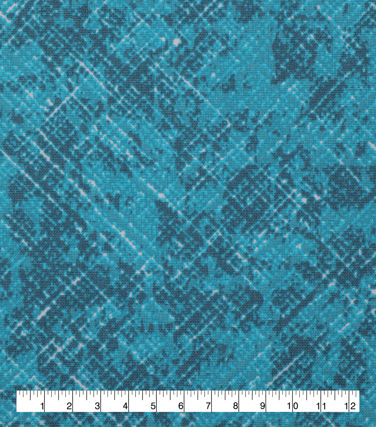 Keepsake Calico Cotton Fabric-Scratched Bias Teal