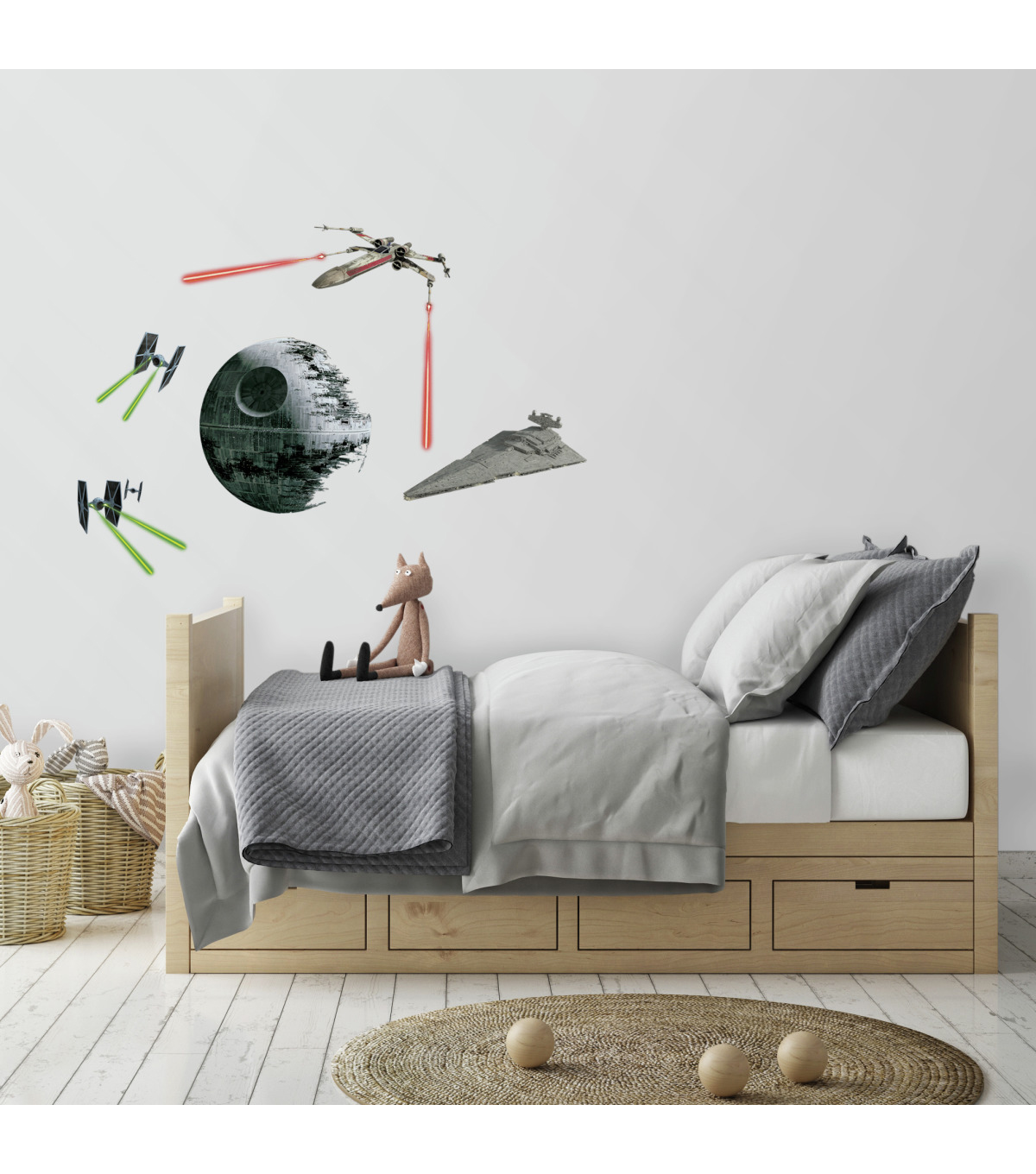 York Wallcoverings Wall Decals-Star Wars Classic Space Ships