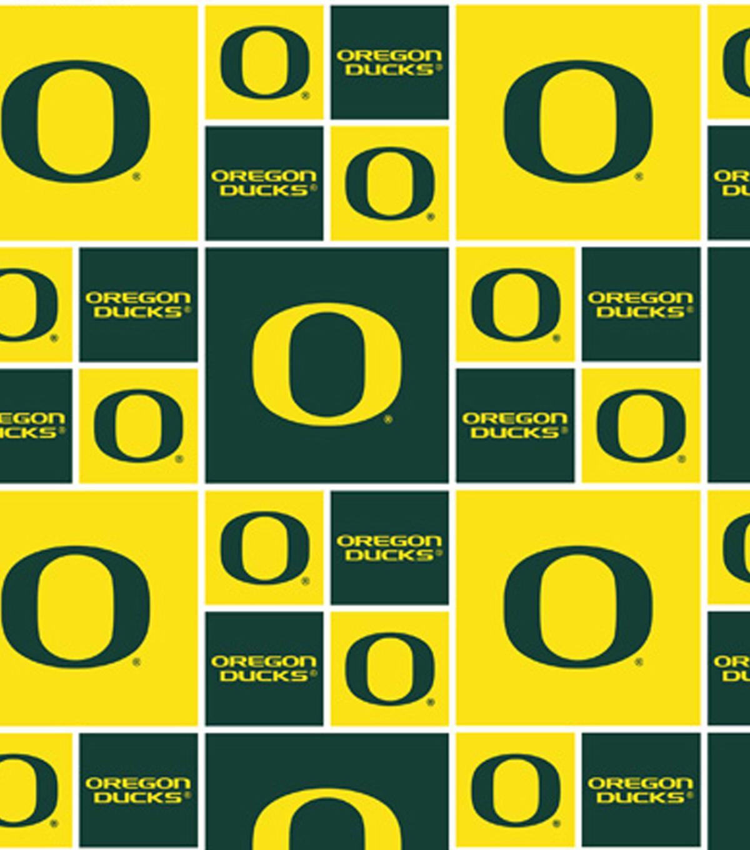 university of oregon ducks cotton fabric 43 block joann