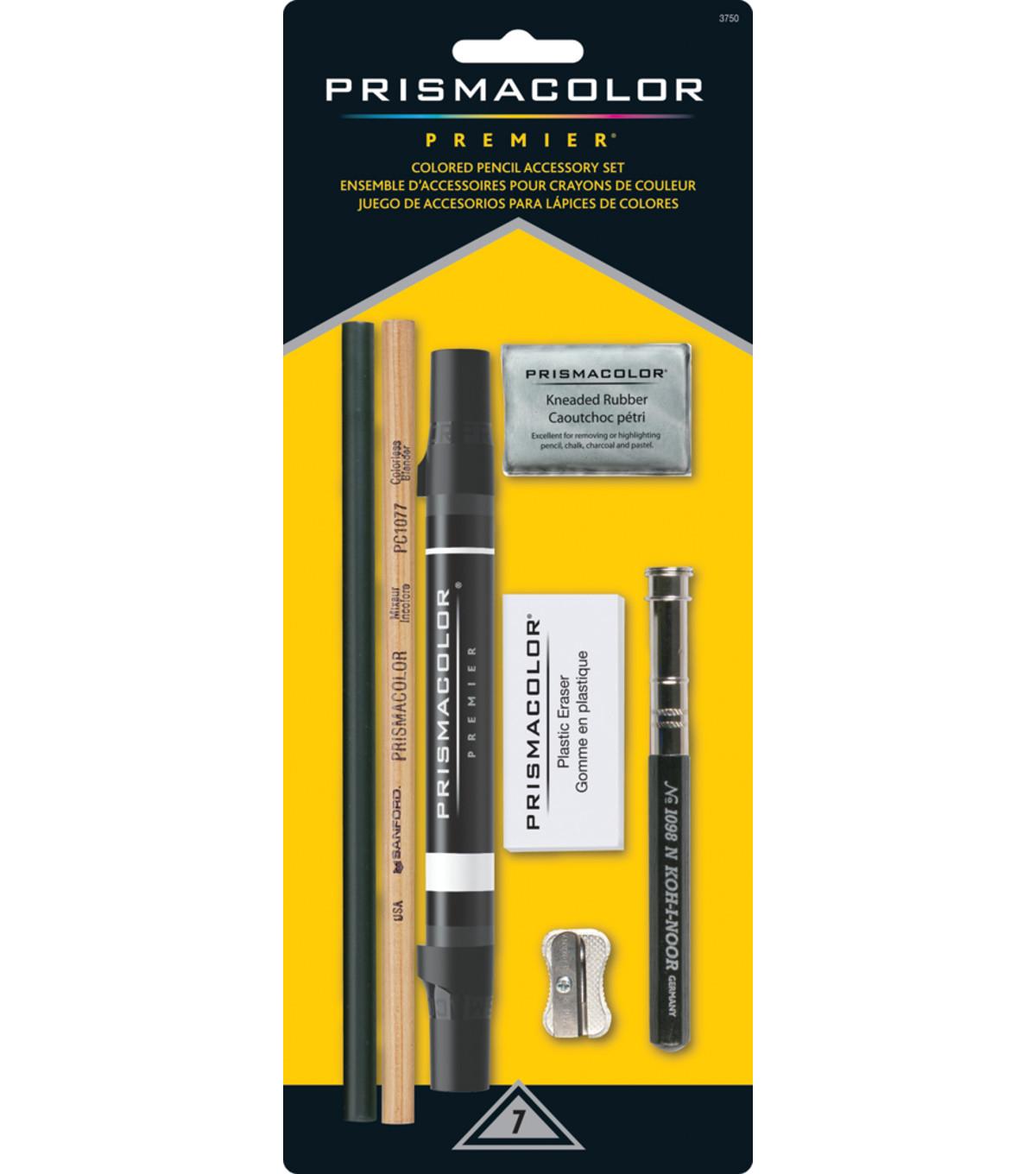 Prismacolor Premier Colored Pencil Accessory Set 7pcs