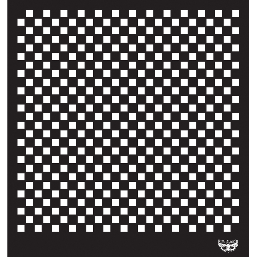 Prima Marketing Sunrise Sunset Designer Stencil Checker 12\u0022 x 12\u0022