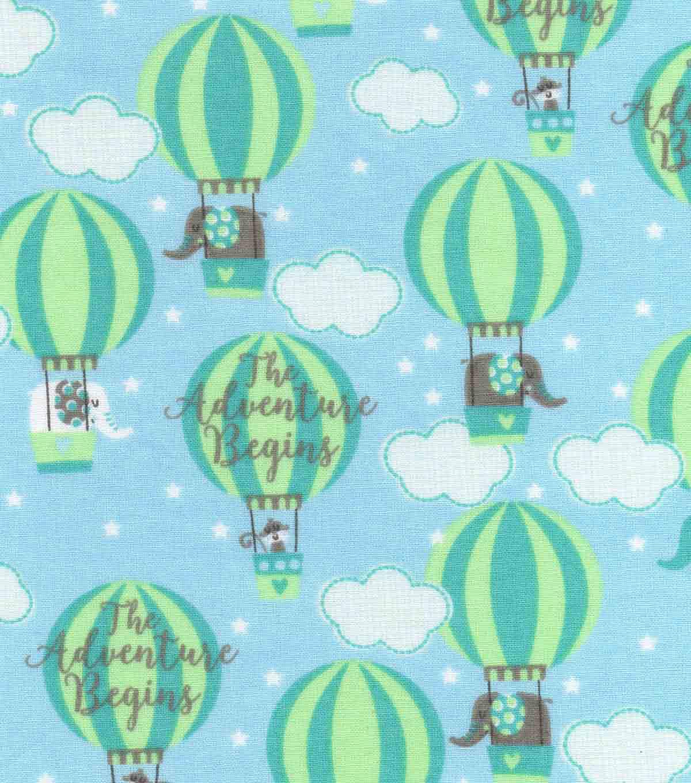 nursery cotton fabric 43 adventure balloons joann