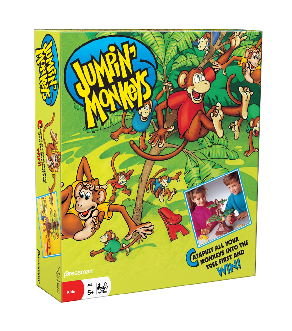 Pressman Jumpin\u0027 Monkeys Game, Pack of 2