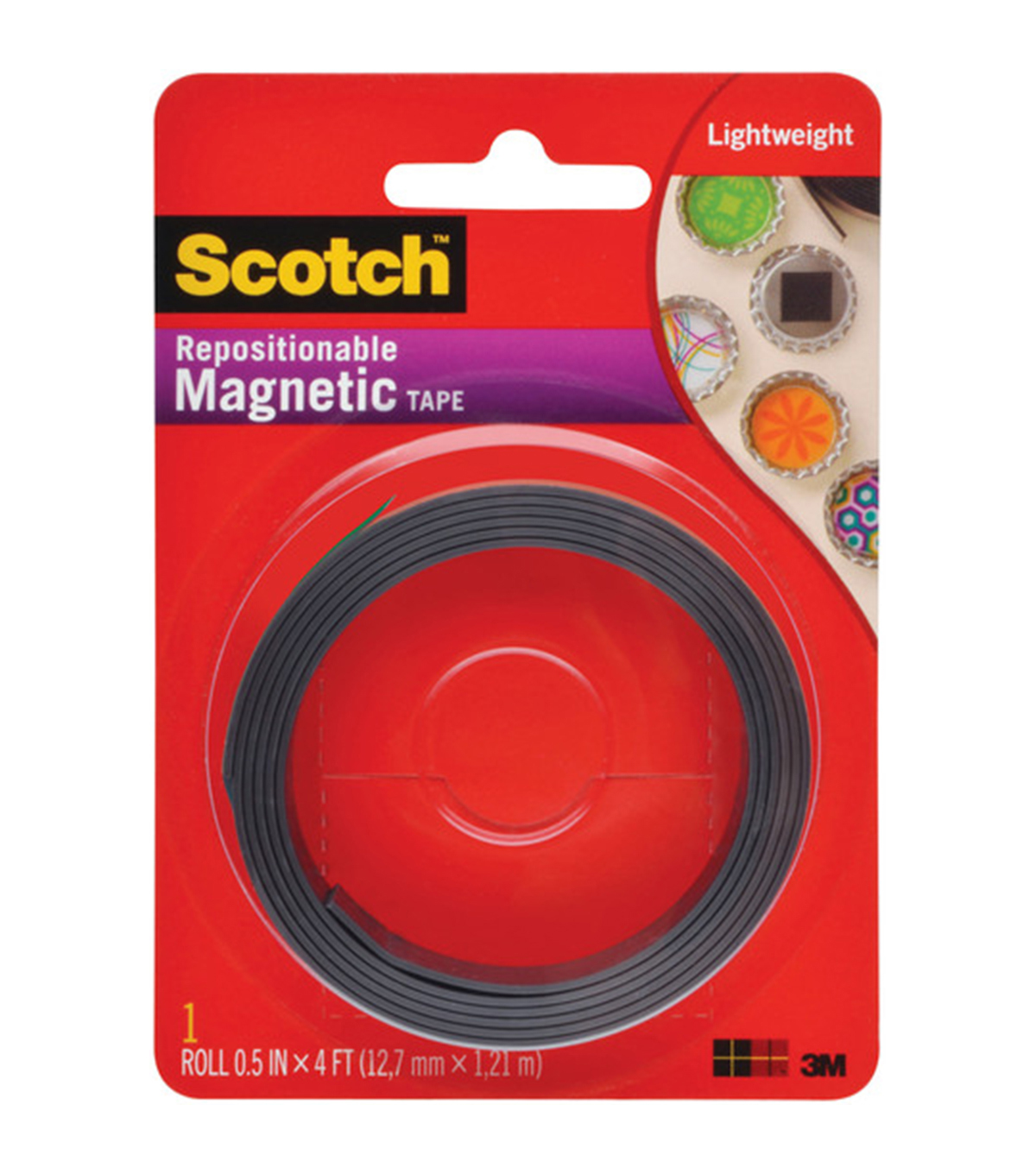 Scotch (TM) Magnetic Tape .5\u0022X4\u0027