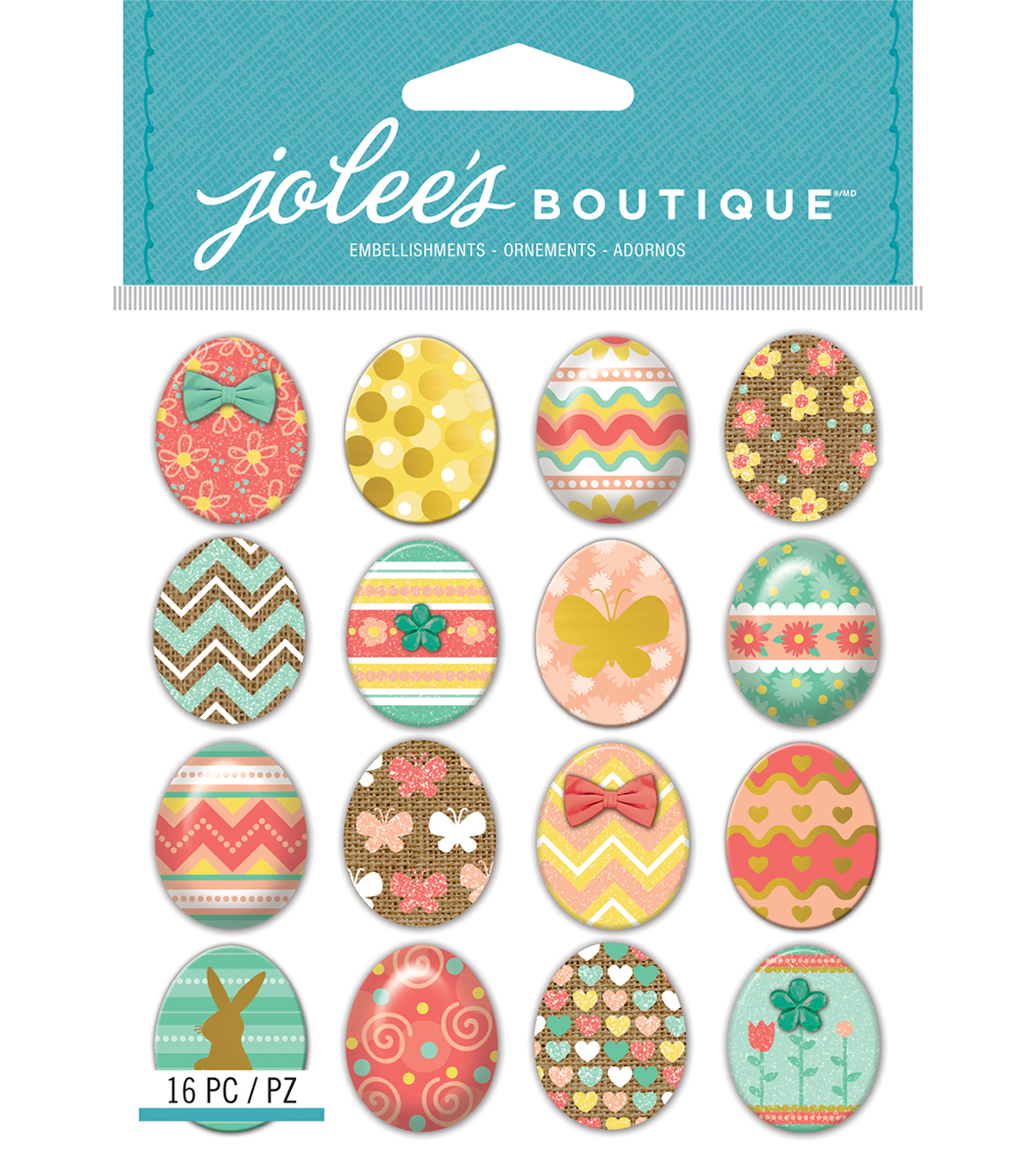 Jolee\u0027s Boutique Dimensional Stickers-Easter Egg