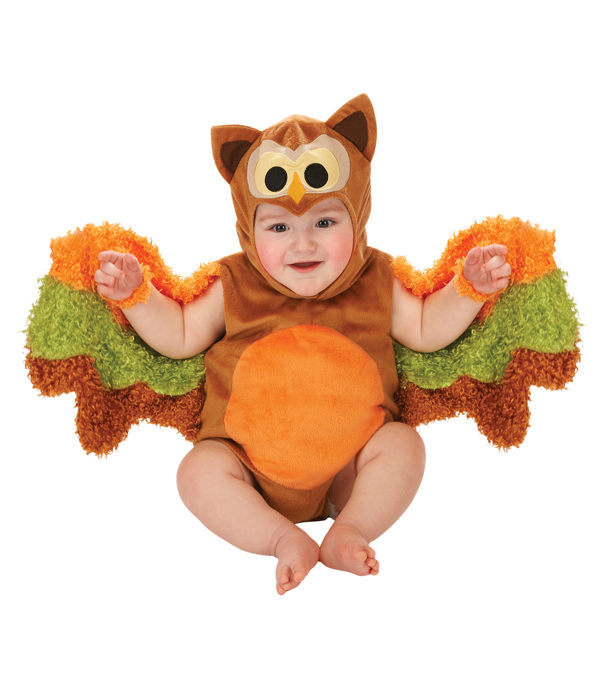 Maker\u0027s Halloween 12-18 months Infant Owl Romper Costume-Multi