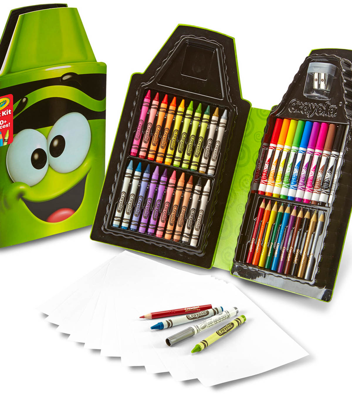 Crayola Tip Art Case-Electric Lime