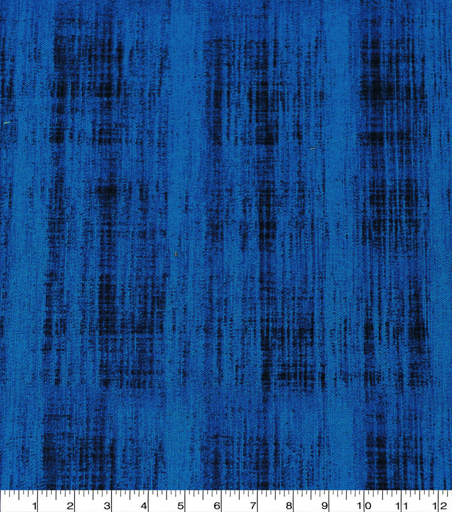 Keepsake Calico Cotton Fabric-Blue Scratched Crosshatch
