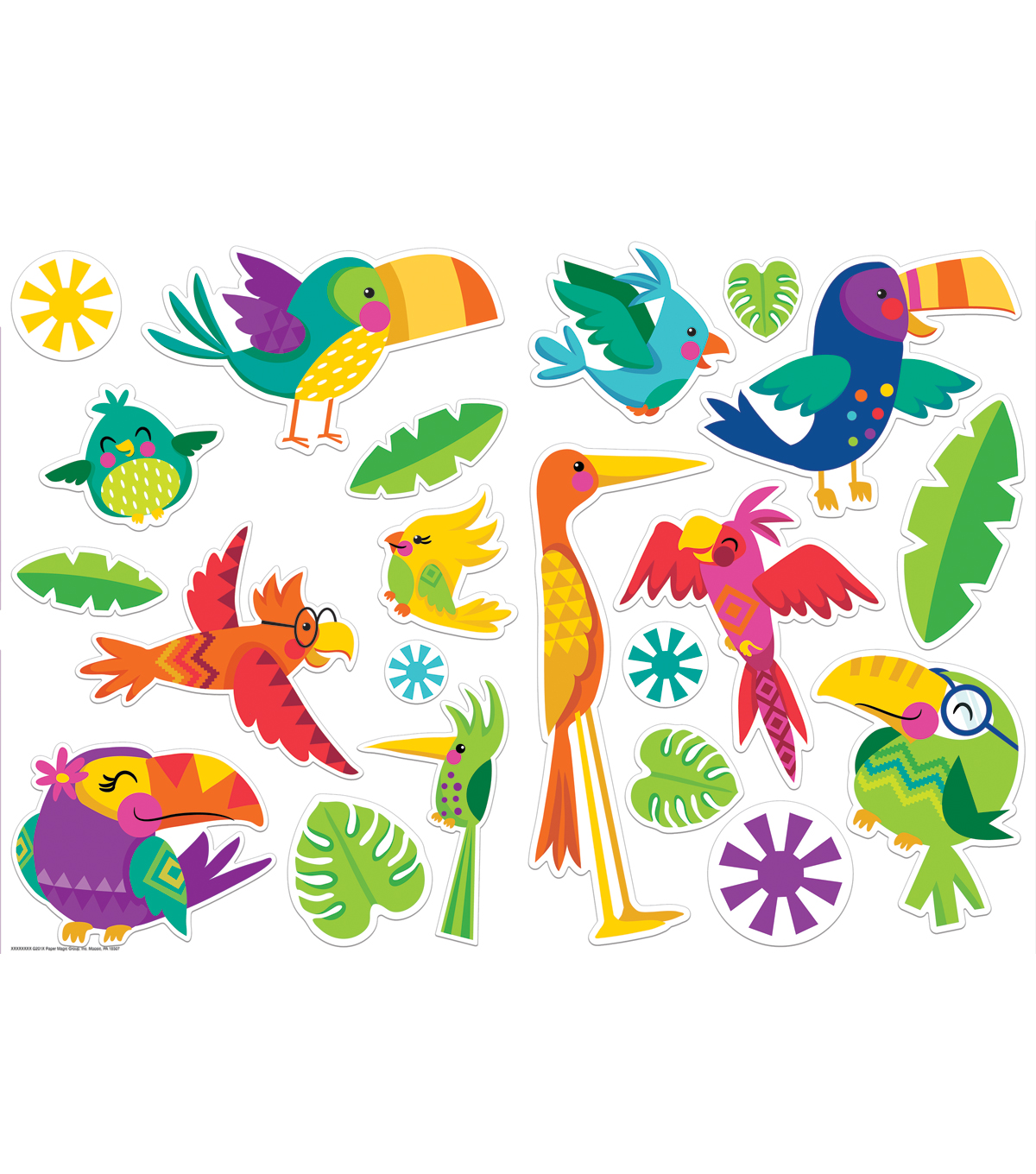 Eureka Two-Sided Deco Kits-You Can Toucan Birds