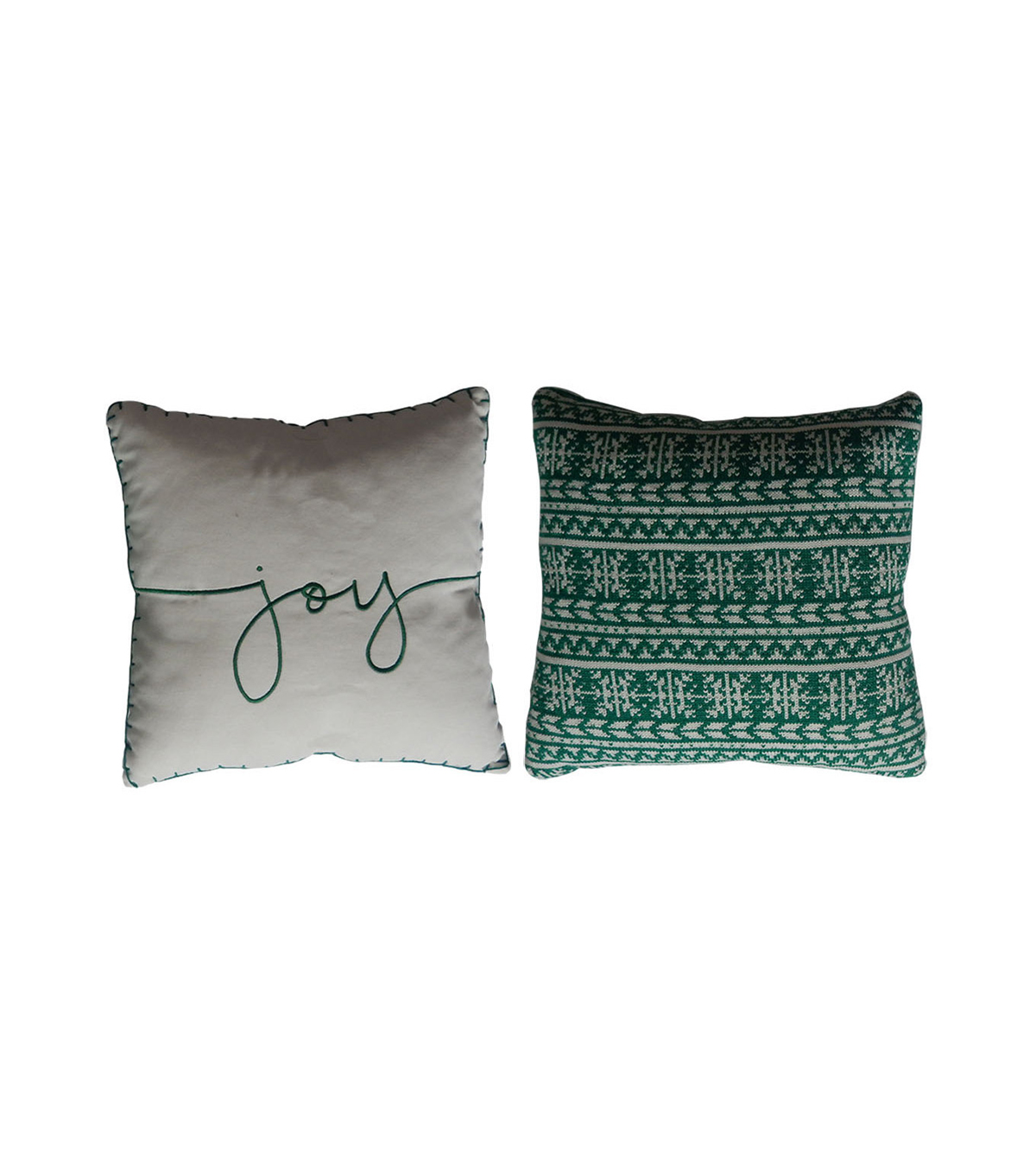 Maker\u0027s Holiday Christmas 2 pk Pillows-Joy