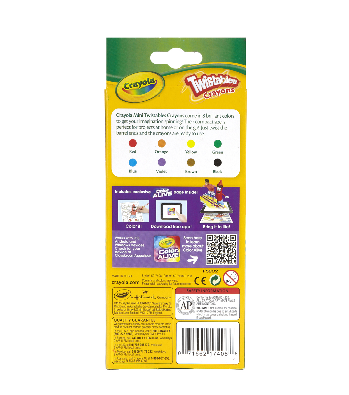 Crayola Twistable Crayons-Classic Colors