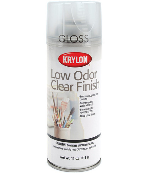 Krylon 11 oz. Low Odor Clear Finish Gloss Spray