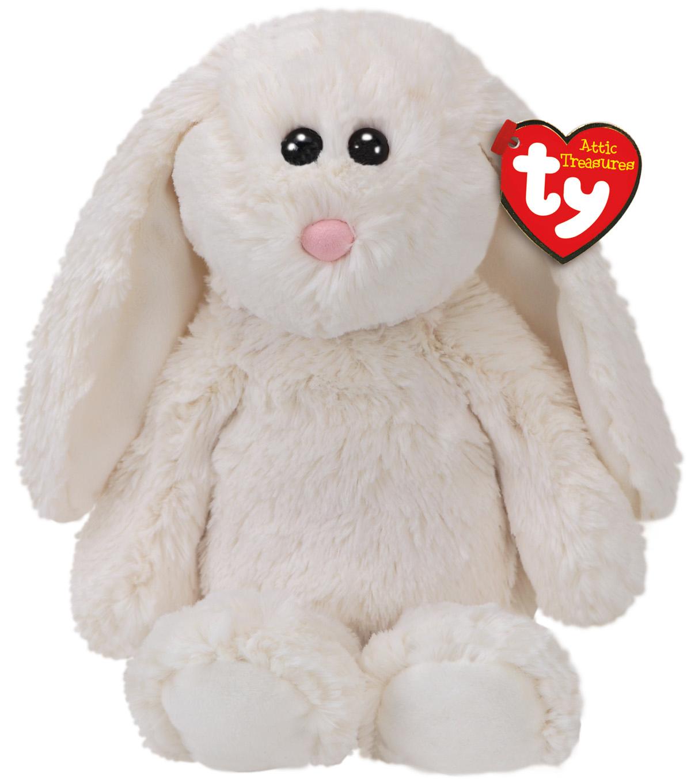 10dcd7d3ef123f Ty Attic Treasures Plush Pearl Rabbit