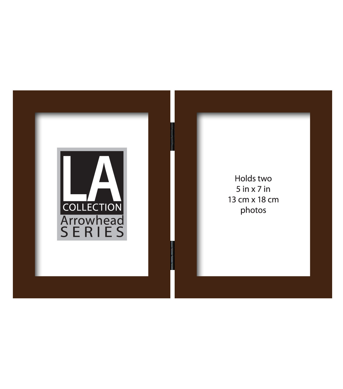 LA Double Flattop Tabletop Frame 5X7-Walnut