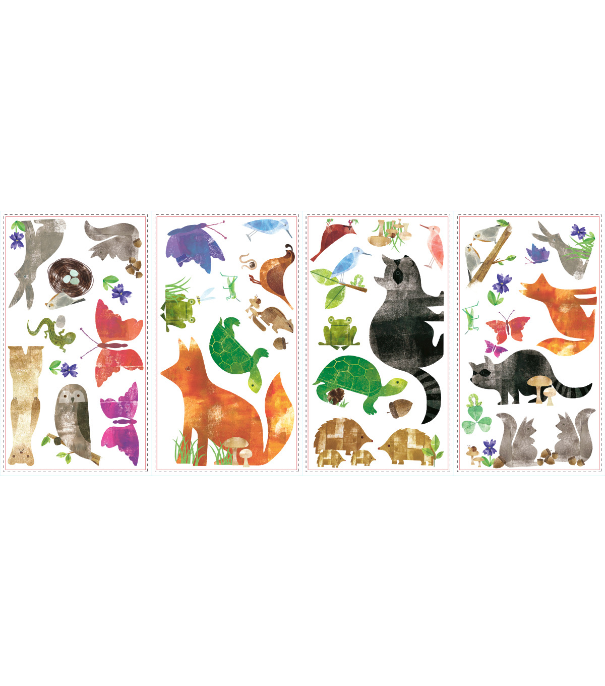 York Wallcoverings Wall Decals-Woodland Friends