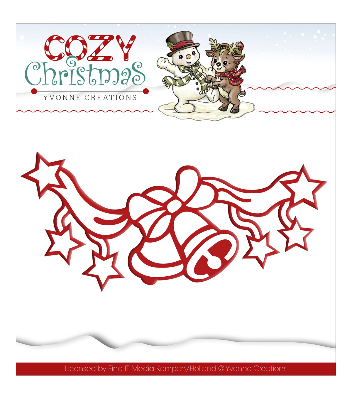 Yvonne Creations Cozy Christmas Die-Jingle Bells