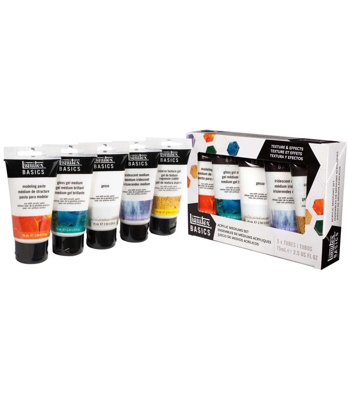 The Little Shop Peinture liquitex basics 5 pk 2.5 fl. oz acrylic mediums