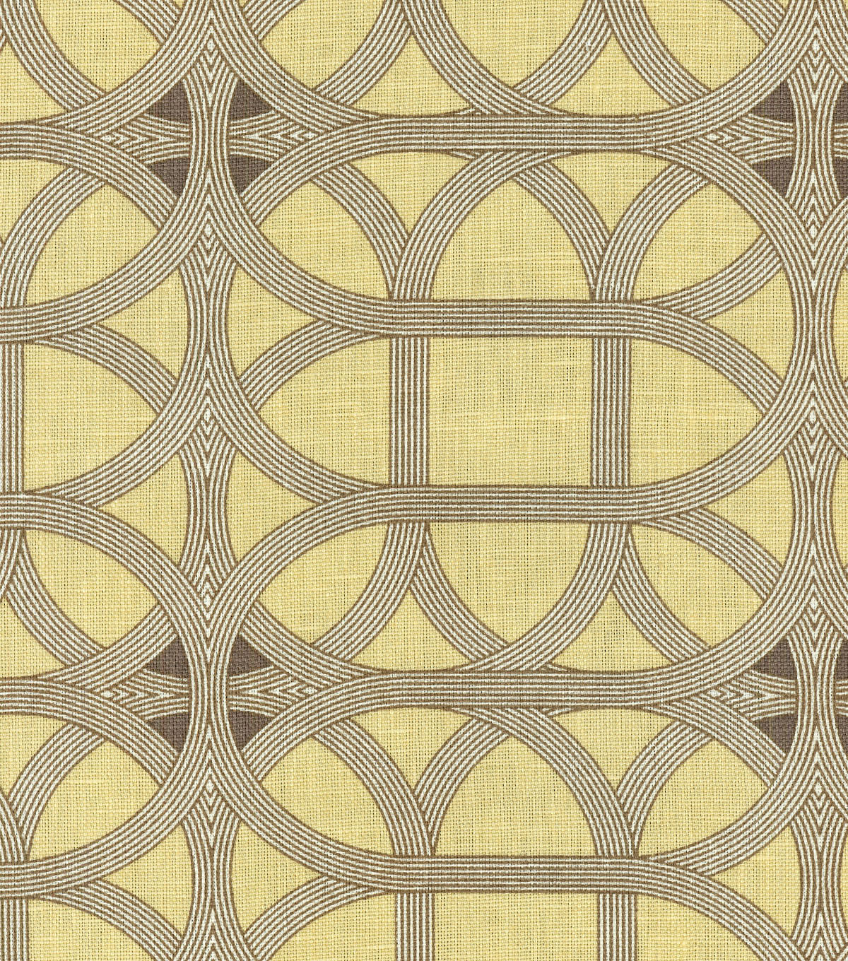 P/K Lifestyles Lightweight Decor Fabric 54\u0022-Lamerie Lattice/Sepia