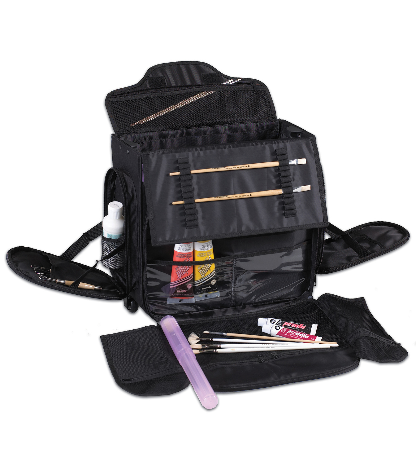 Martin Universal-Just Stow It Roller Board Art Tote-Black