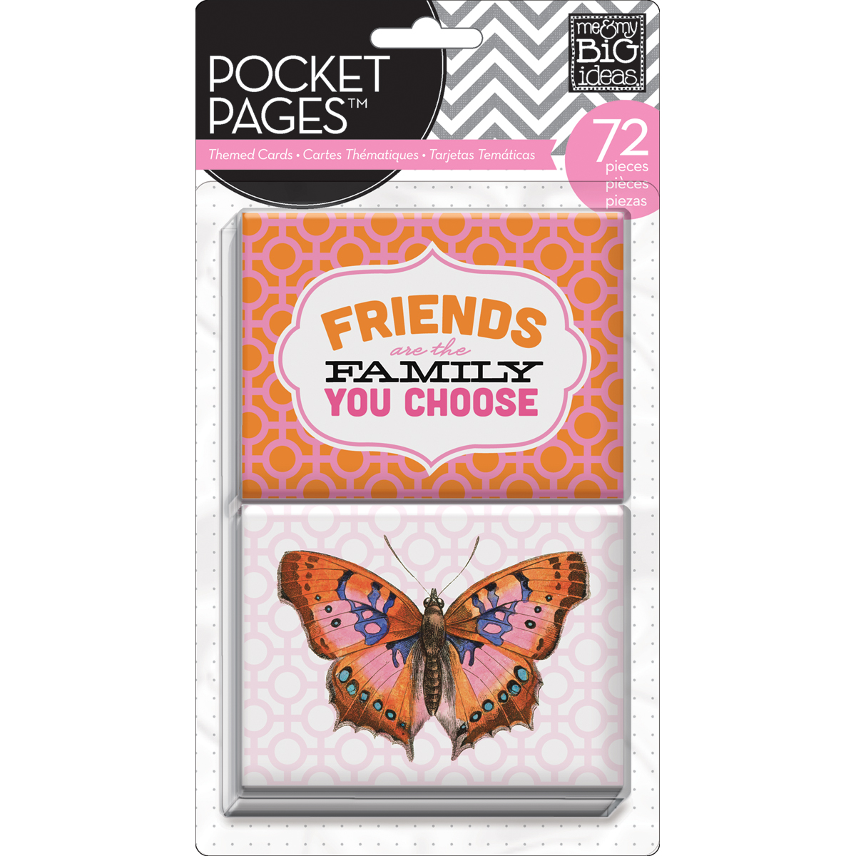 Me & My Big Ideas Pocket Pages Themed Cards Friends