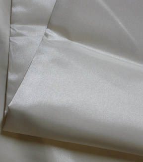 Casa Collection Satin Fabric -Taffeta Eggnog