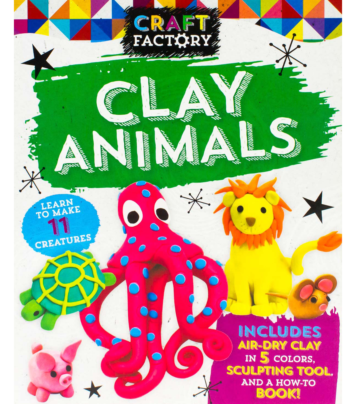 Parragon Craft Factory Clay Animals Kit