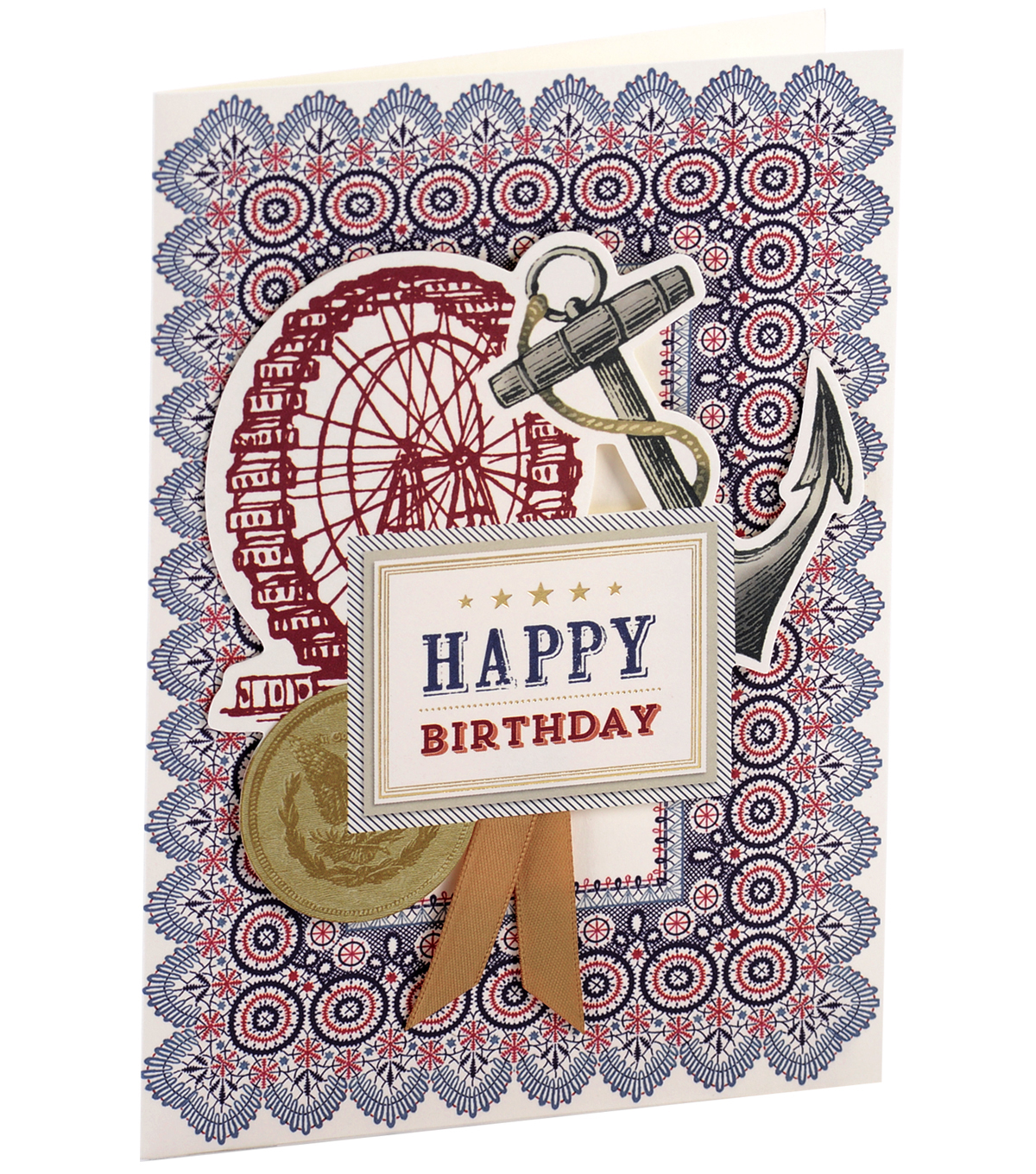Anna Griffin Card Kit Birthday Masculine