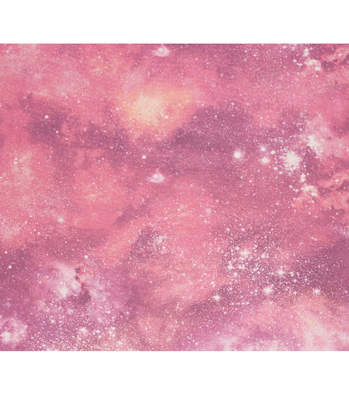 Super Snuggle Flannel Fabric-Coral Galaxy