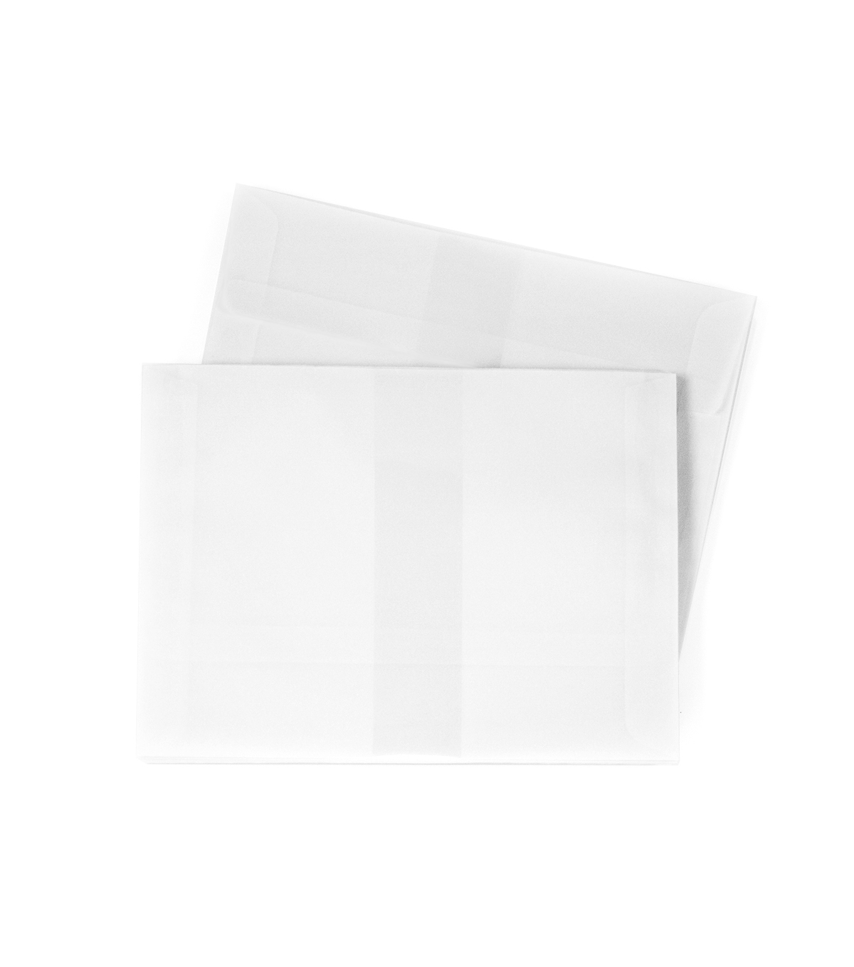 Park Lane A7 Vellum Envelopes-White