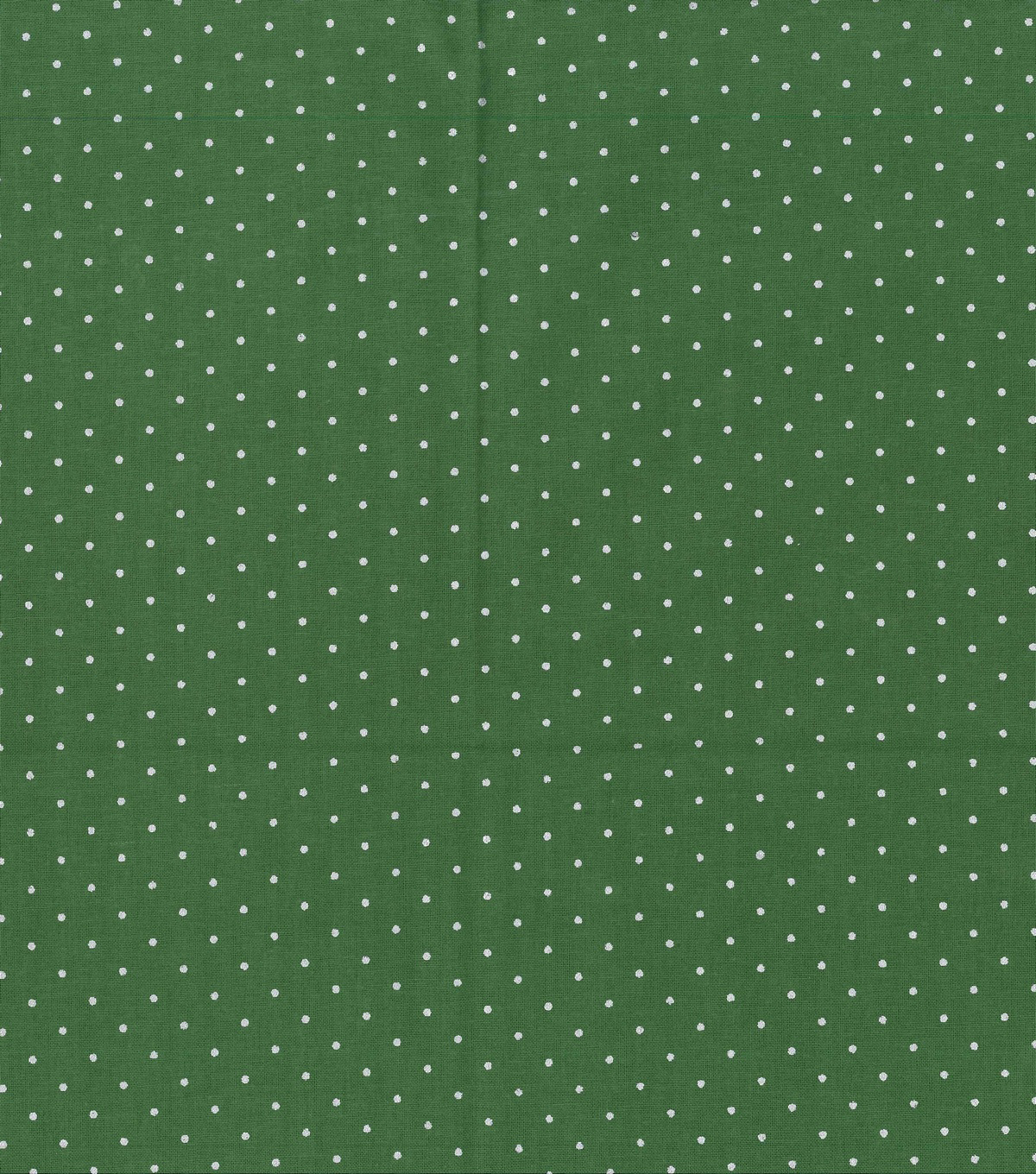 Christmas Cotton Fabric 43\u0022-Silver Met Dots