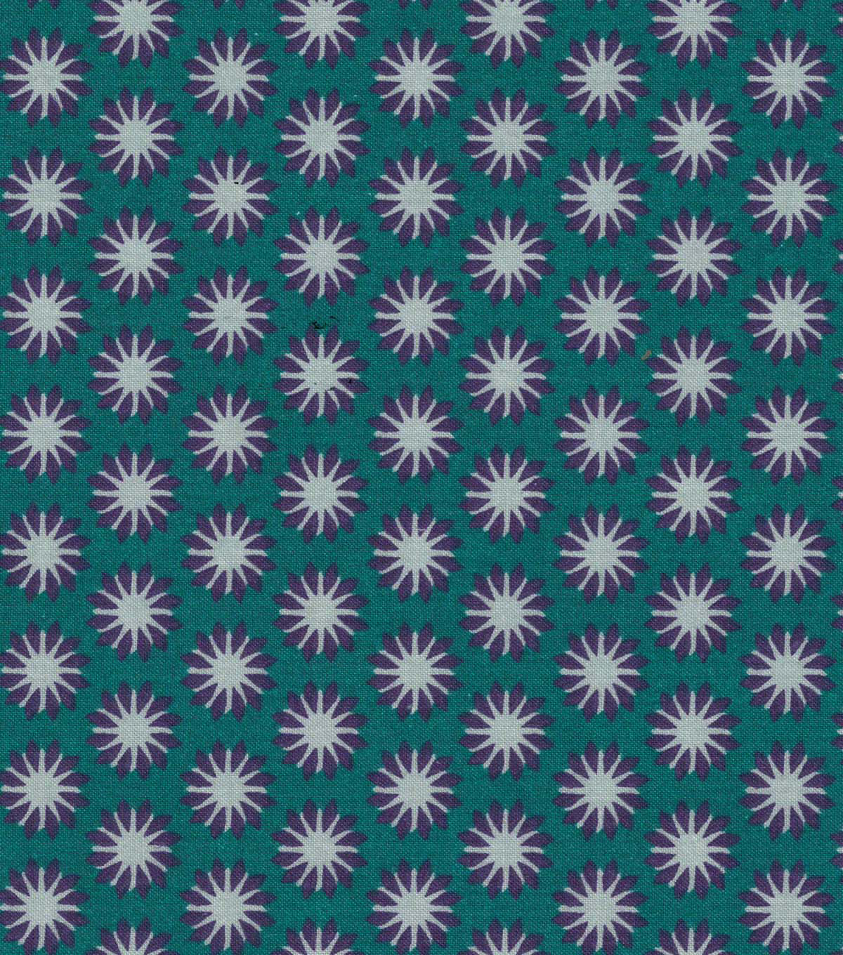 Quilter\u0027s Showcase Cotton Fabric 44\u0022-Grape Gray Linear Ditsy Floral