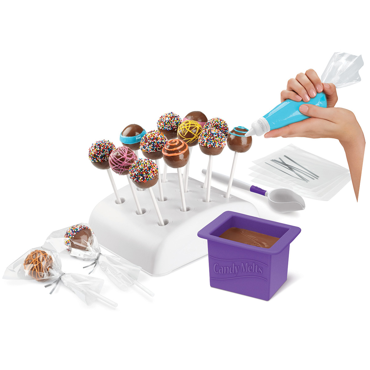 Wilton Candy Melt Dip \u0027N Decorate Essentials Set
