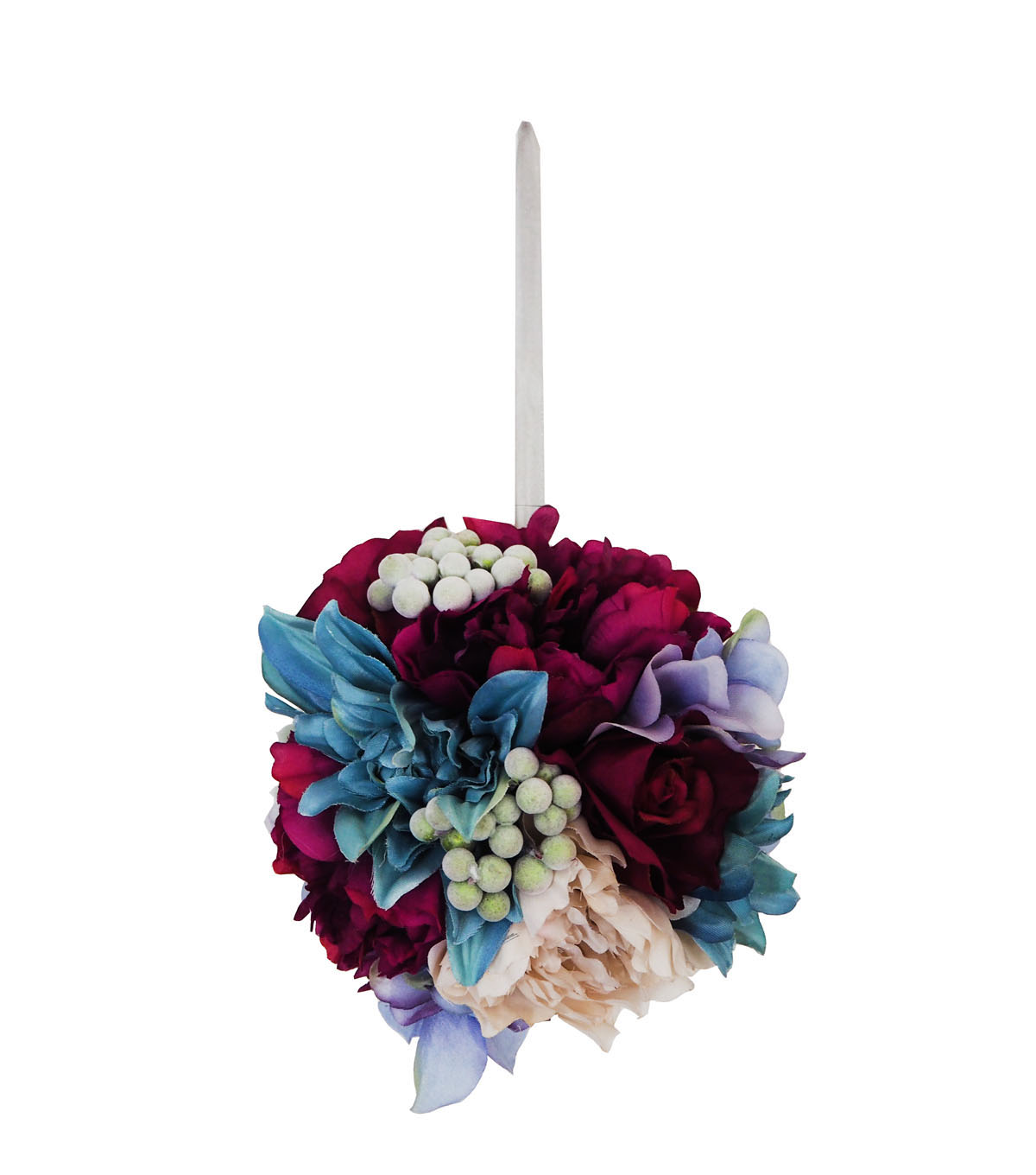 Blooming Autumn Large Peony & Rose Kissing Ball