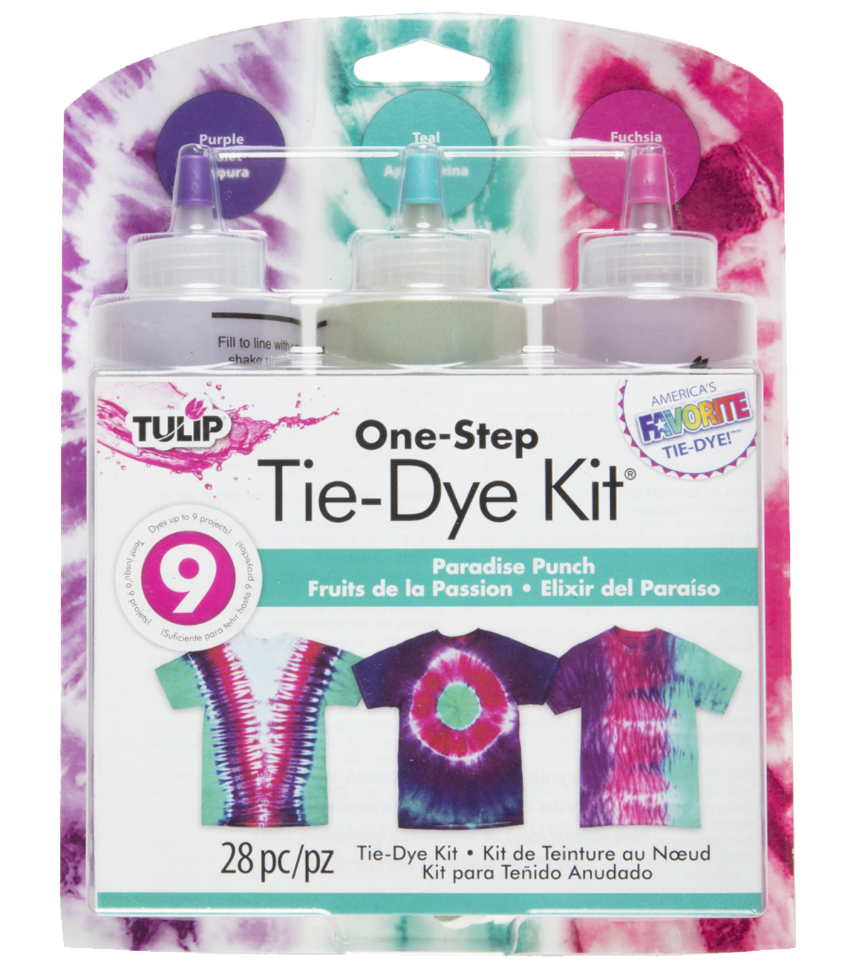 Tulip One-Step Paradise Punch Tie-Dye Kit