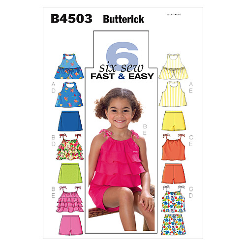 Butterick Child Casual-B4503