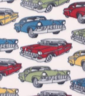 Blizzard Fleece Fabric Classic Cars Joann