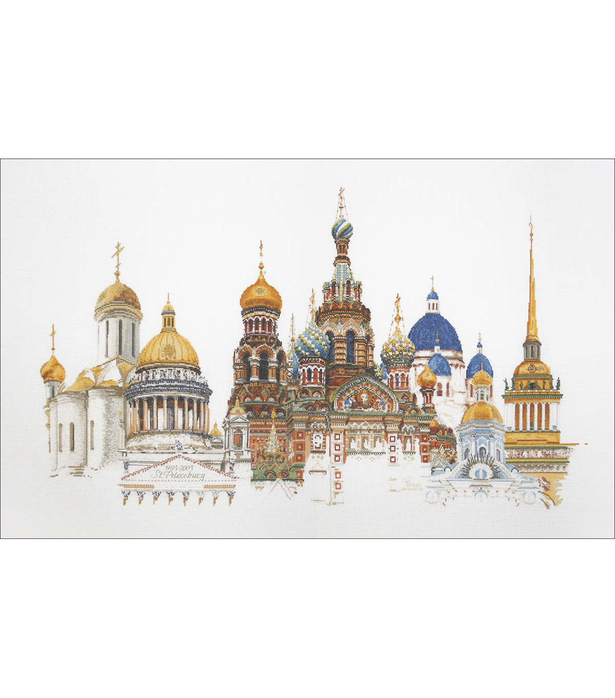 Thea Gouverneur St. Petersburg On Aida Counted Cross Stitch Kit