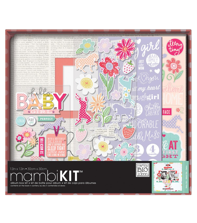 Me My Big Ideas Sweet Baby Girl Boxed Album Kit Joann