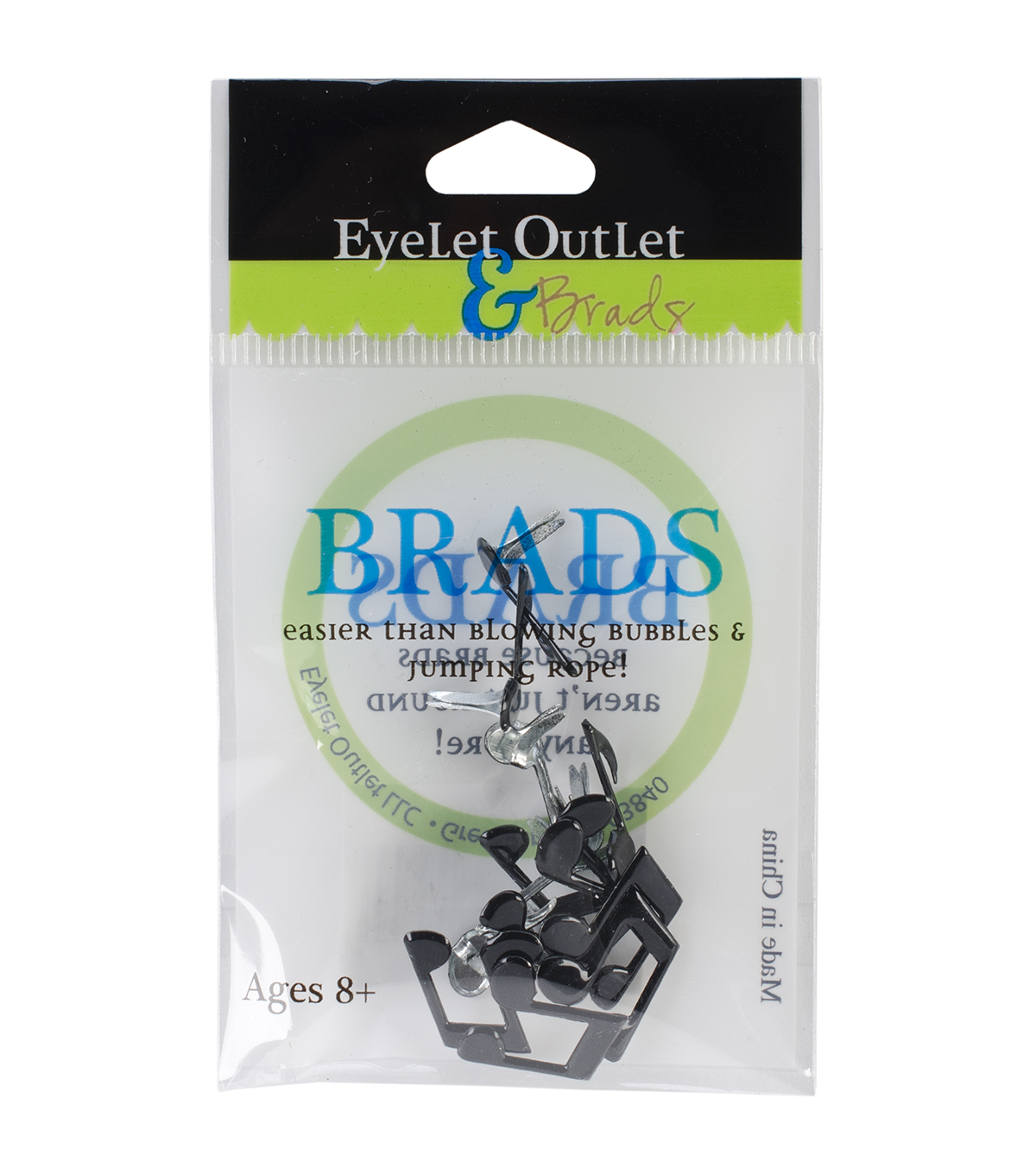 Eyelet Outlet Shape Brads-Music Notes