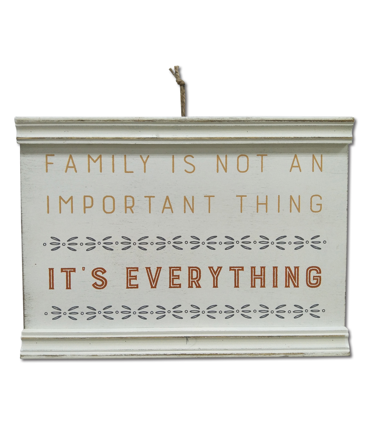 Simply Autumn 15.75\u0027\u0027x11.75\u0027\u0027 Wood Wall Decor-Family Everything on White