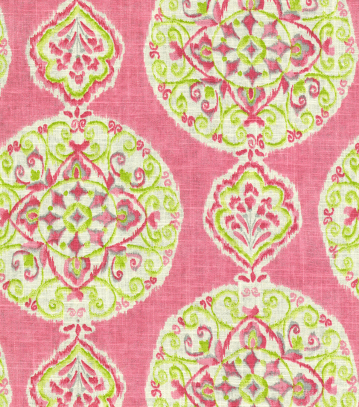 Dena Home Lightweight Decor Fabric 54\u0022-Mirage Medallion/Petal