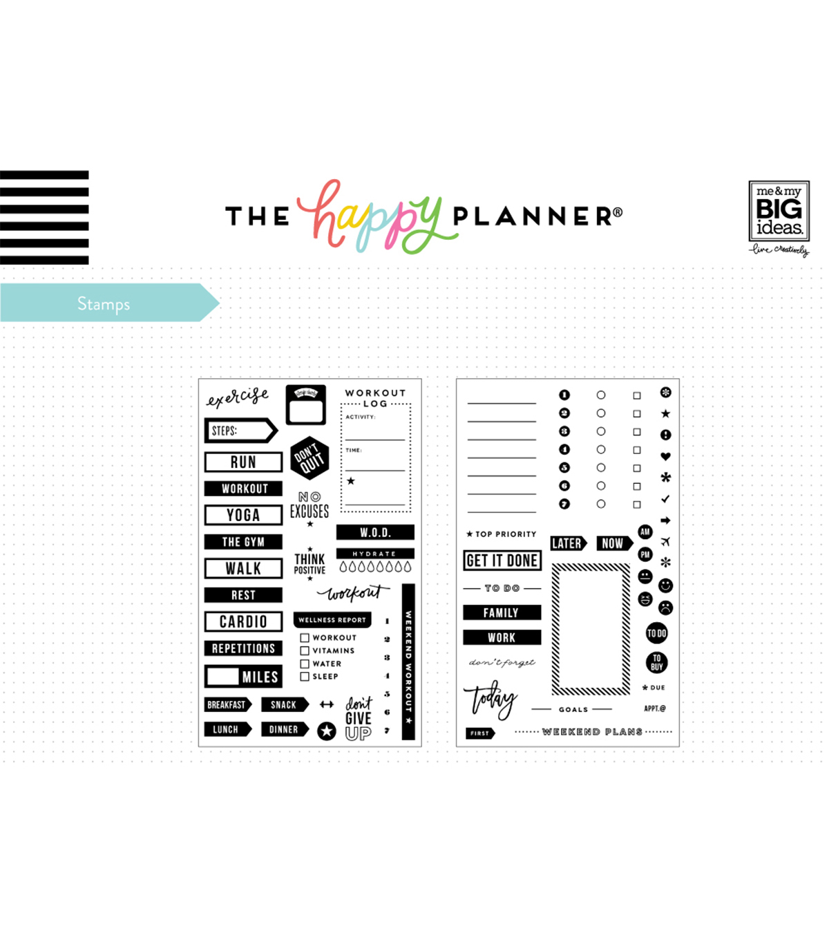 The Happy Planner Stamp-To Do