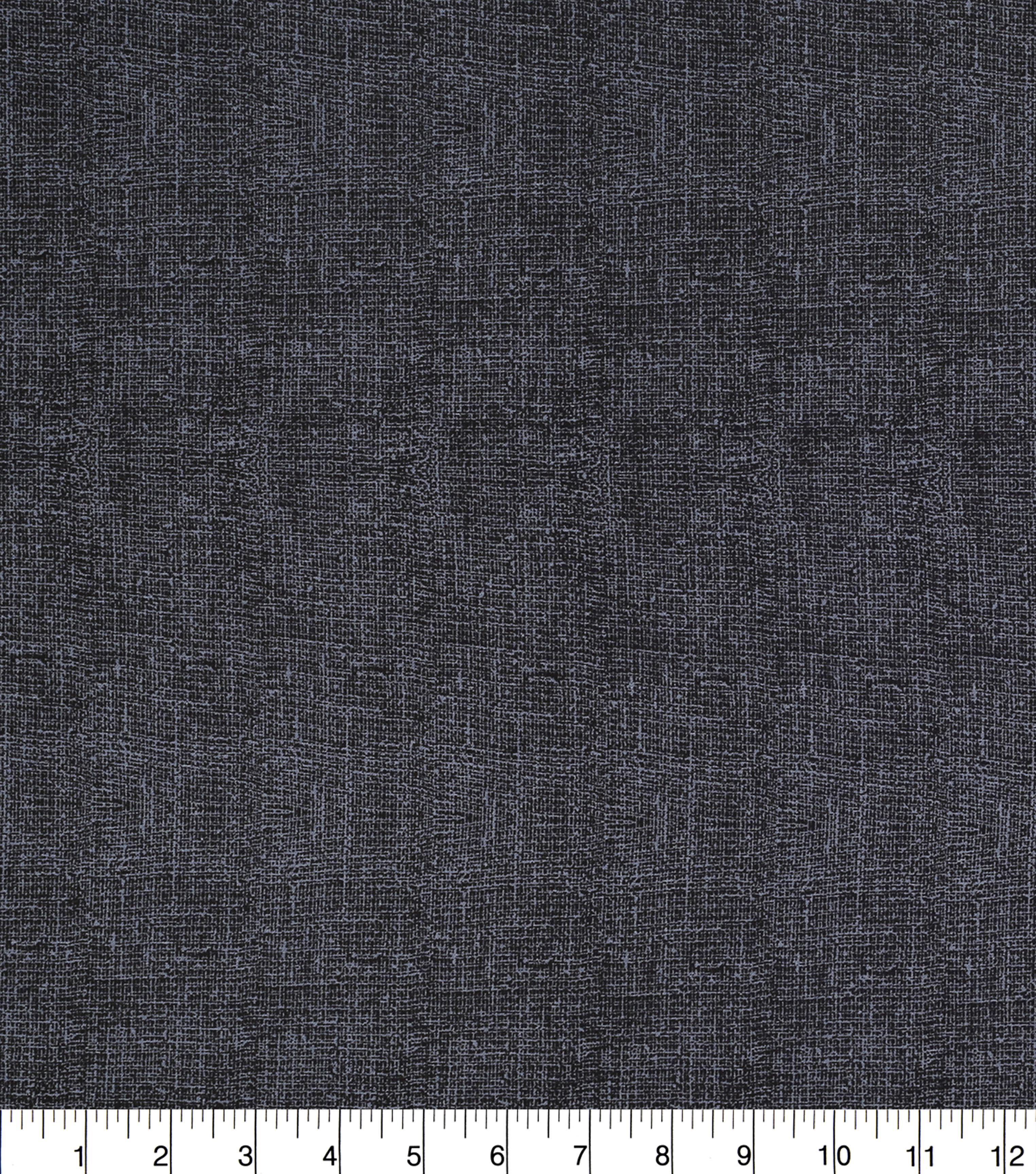 Keepsake Calico Burlap Texture Cotton Fabric 43\u0027\u0027-Black