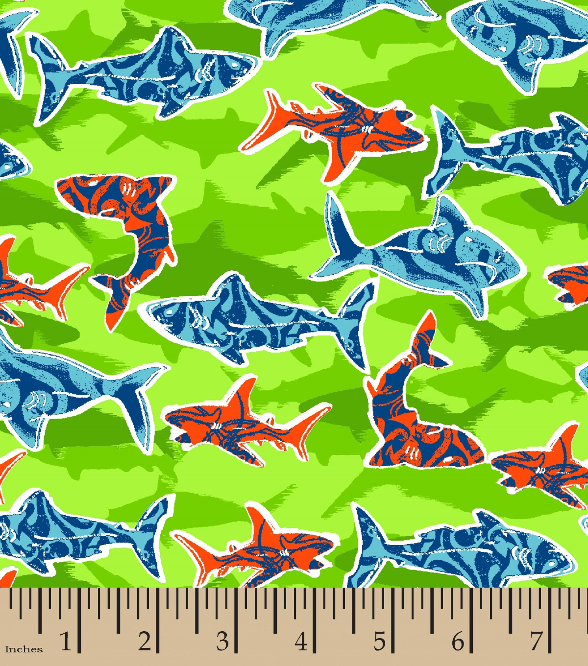 Cotton flannel fabric print 42 shark water shadow joann snuggle flannel fabric 42u0027u0027 shark water shadow gumiabroncs Image collections