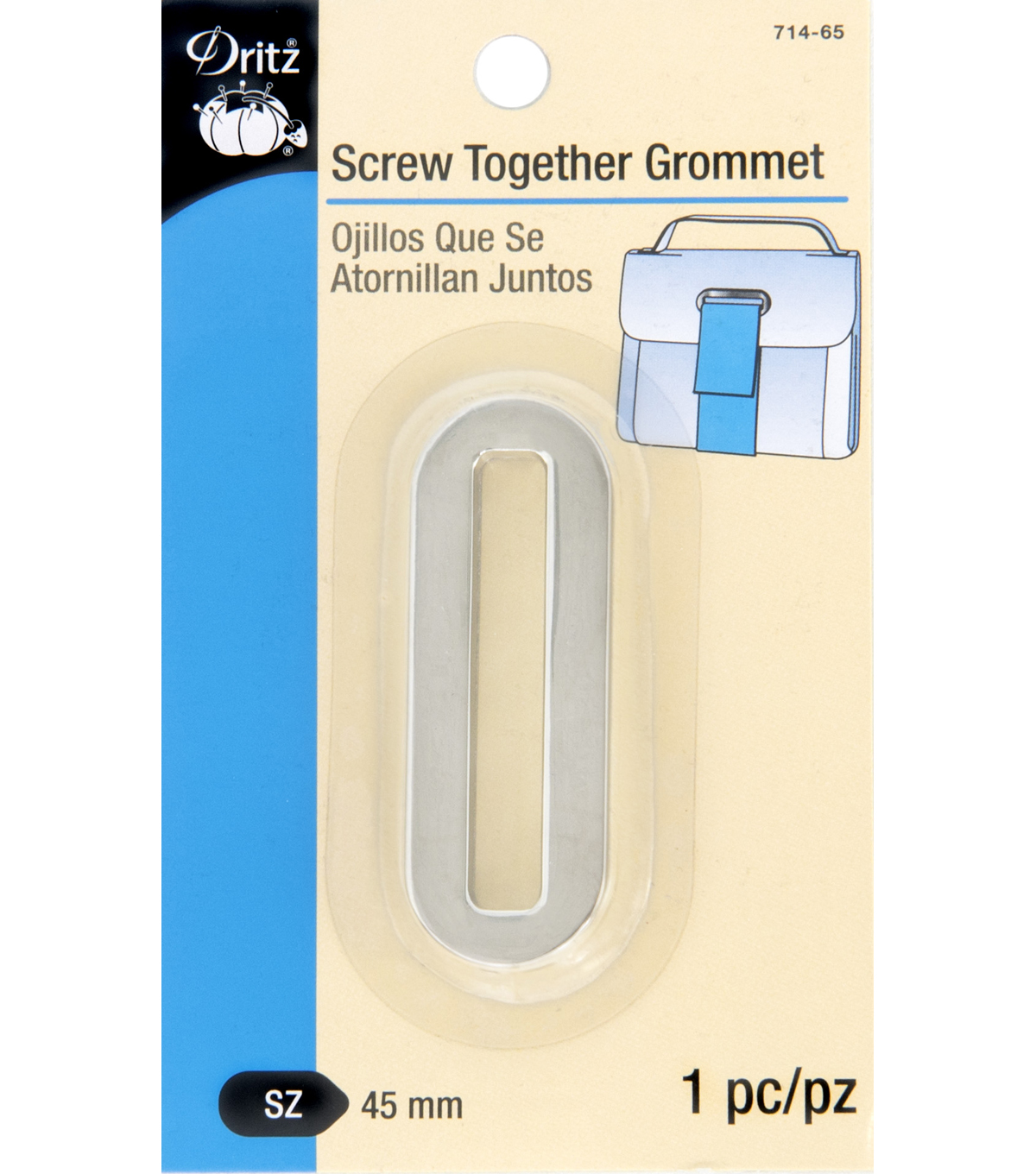 Dritz-Screw Together Grommets Silver